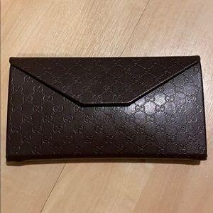 Authentic Gucci sunglass case